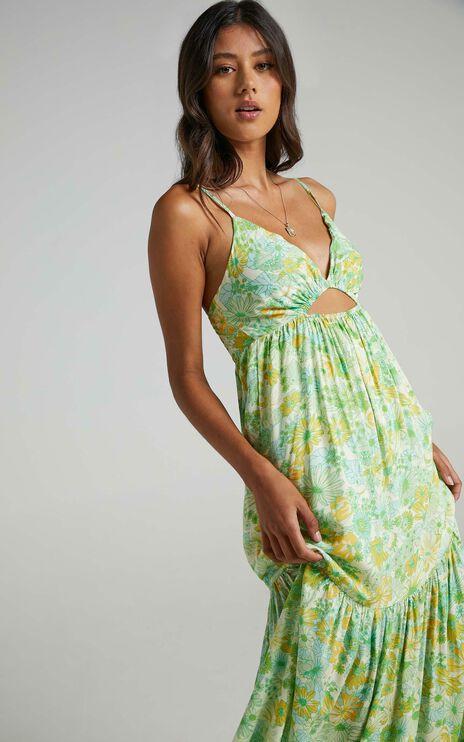 Bullona Dress in Fresh Floral