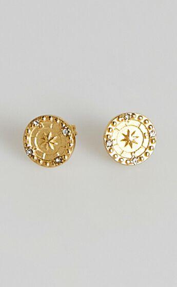 Peta and Jain - Adeline Earrings in Gold