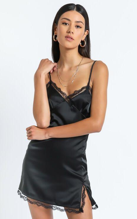 The Kalina Mini dress in Black