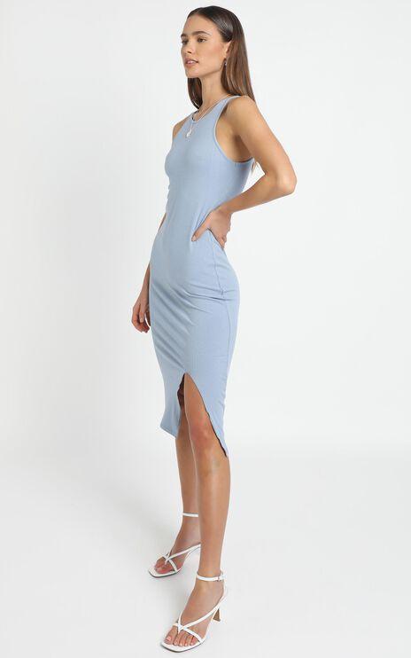 Evita Dress in Blue