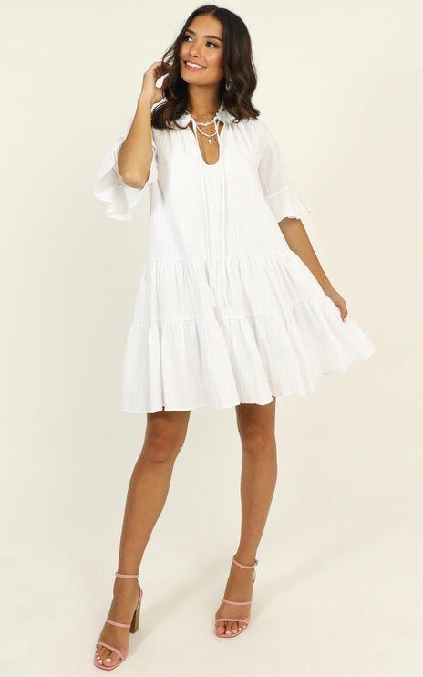 Best Memories Dress In White