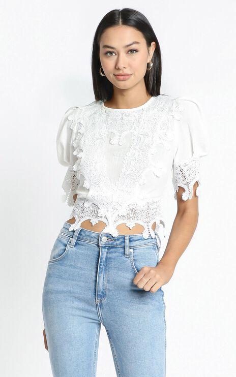 Tanisha Top in White