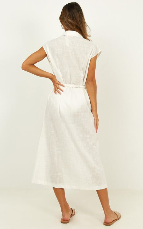 Second Crush Dress In White