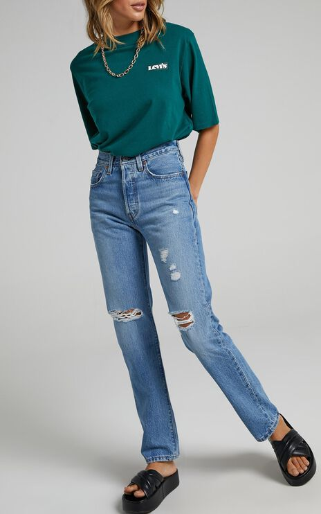 Levis - 501 Jeans in Athens Crown Decon
