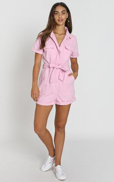 Kade Playsuit in pink