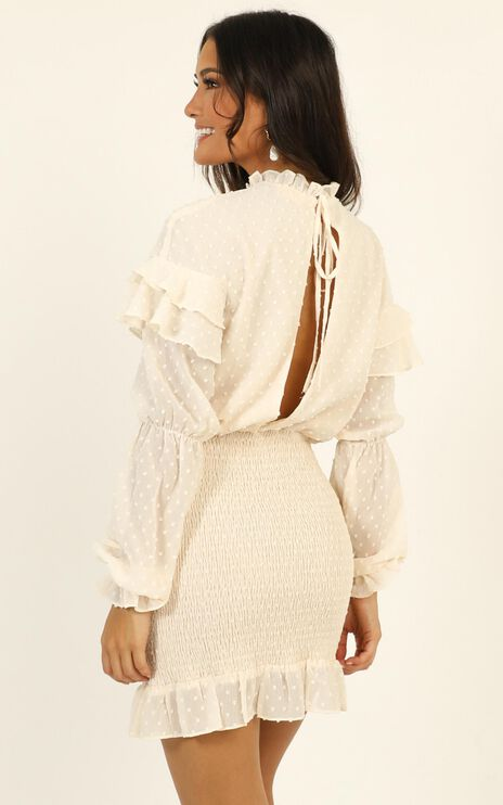 Dreaming About It Dress In Cream