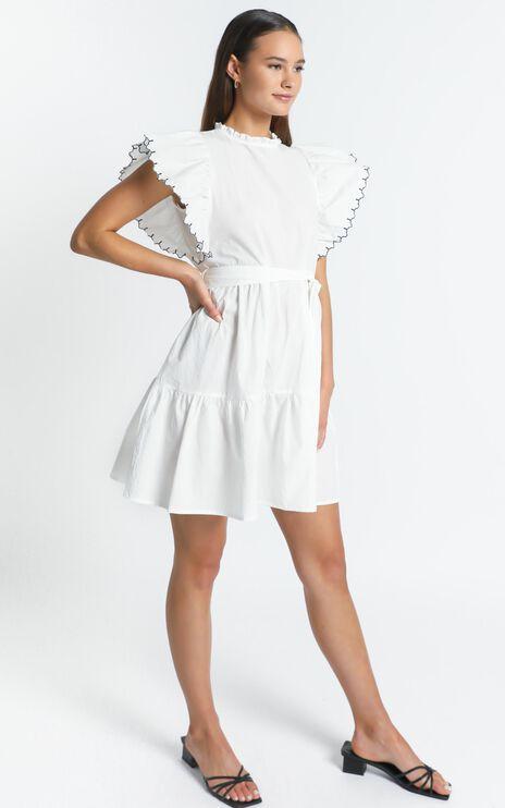 Kiarah Dress in White