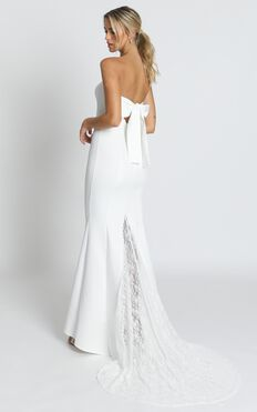 Always Will Love You Dress In White