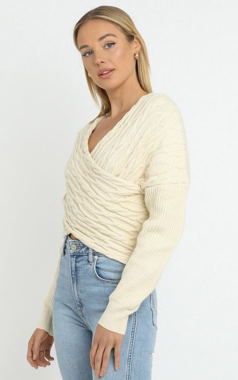Cacia Jumper in Beige