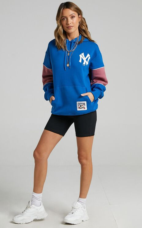 M&N - Madi Cozy Hood Yankees in Balenine Blue