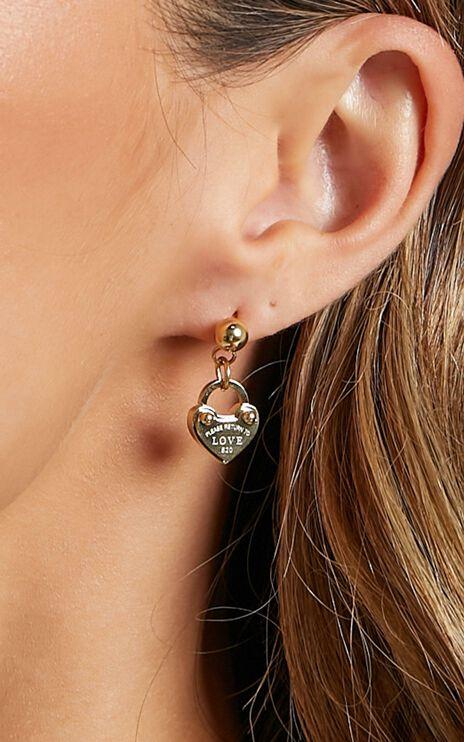 Peta and Jain - Charlotte Earrings in Gold