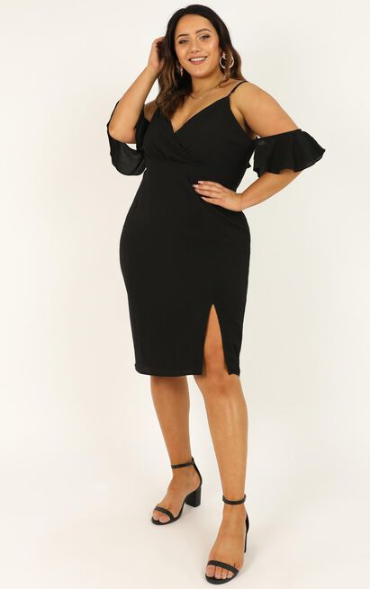 When I Fall in Love Dress in black - 20 (XXXXL), Black, hi-res image number null