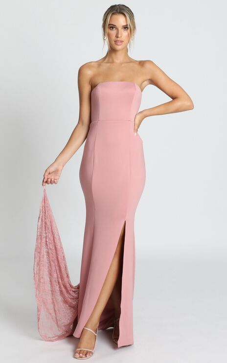 Always Will Love You Dress In Dusty Rose