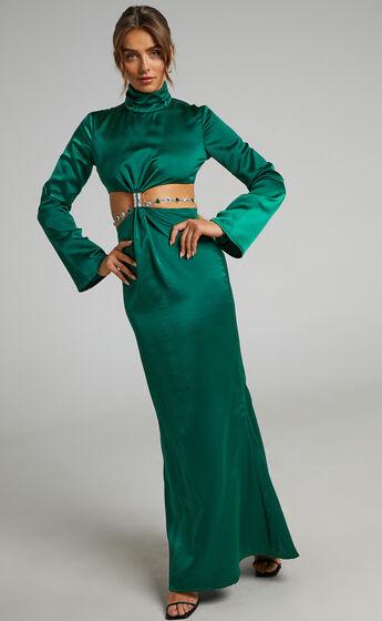 ATOIR - THE LIBERTY DRESS in ivy