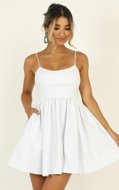 You Got Nothing To Prove Dress In White