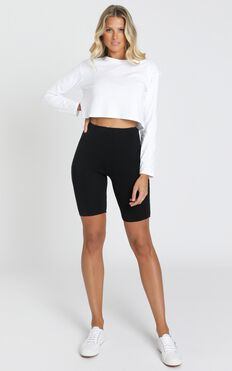 Lioness - Fall In Line Bike Shorts in Black