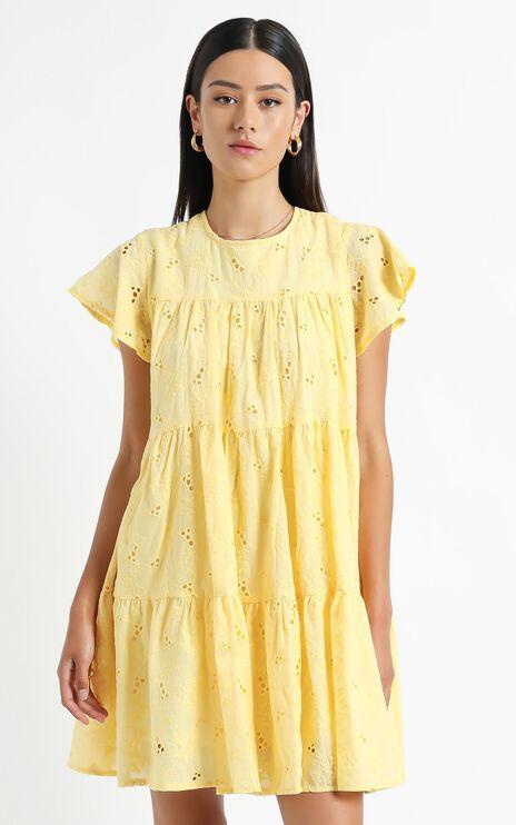 Isla Dress in Yellow