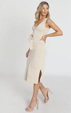 Good Publicity Dress In Cream