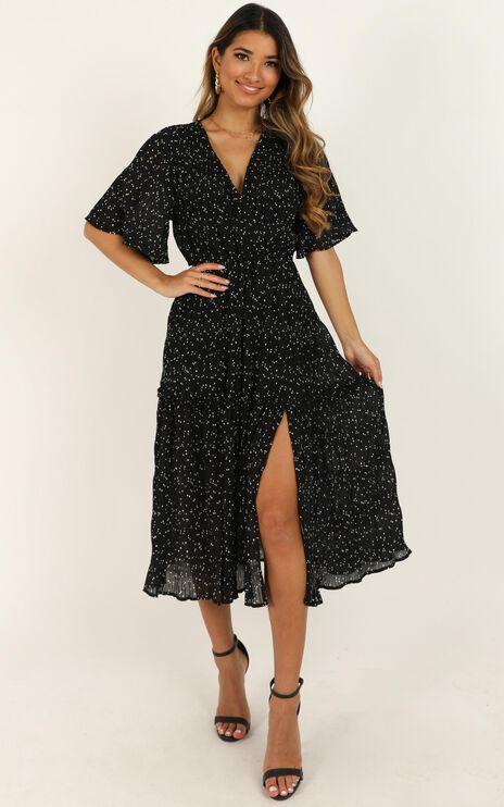 Remi Dress In Black Spot