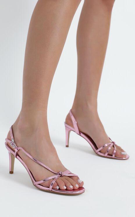 Therapy - Suga Heels in Pink Metallic