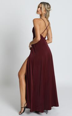 Will It Be Us Dress In Wine