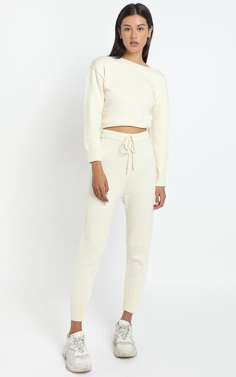 Carina Pant in White