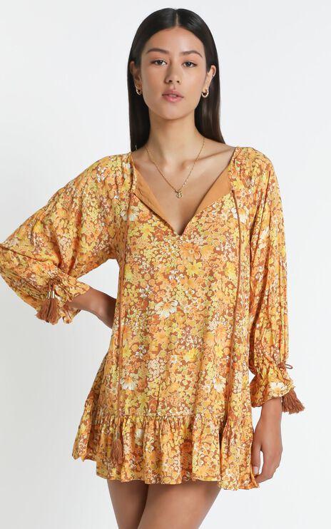 Sian Dress in Rustic Floral