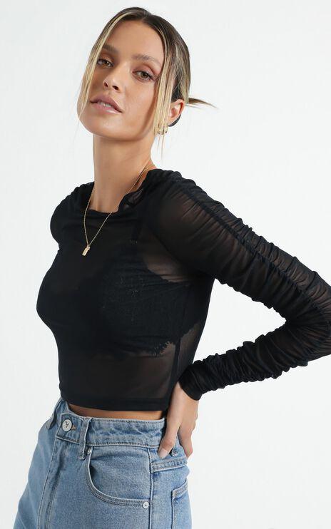 Embla Top in Black