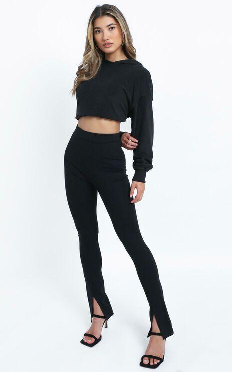 Lorensa Hoodie in Black