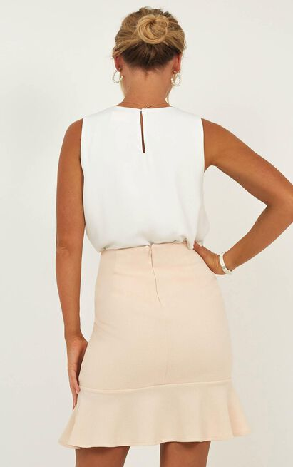 Litigation Top In White - 4 (XXS), White, hi-res image number null