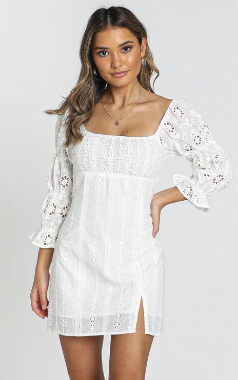 Viv Dress in White