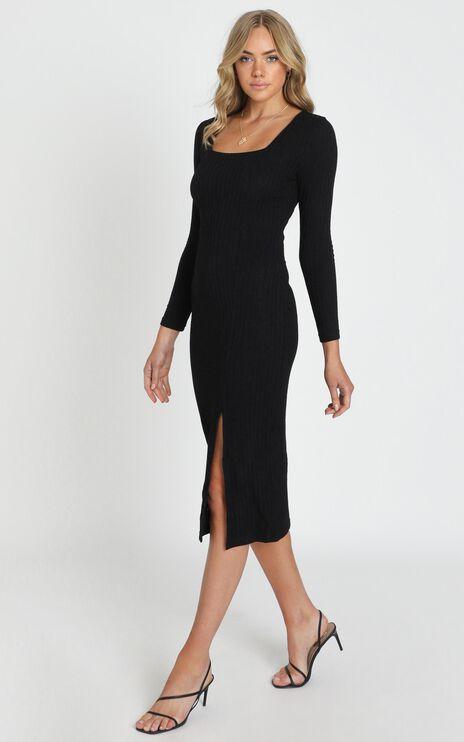 Enjoy The Moment Dress in Black