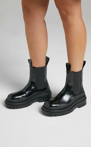 Alias Mae - Pixie Boots in Black Box