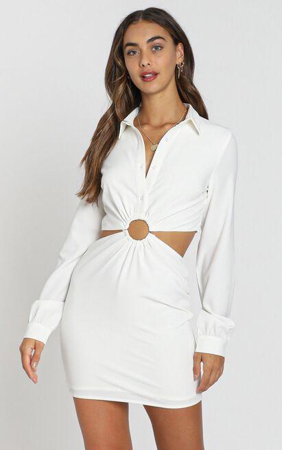 Ebenezer Dress in white - 8 (S), White, hi-res image number null