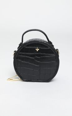 Peta And Jain - Jaz Mini Bag In Black Croc