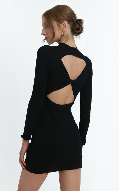 Jonah Dress in Black