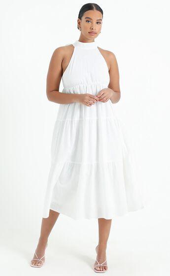 Katrina Dress in White