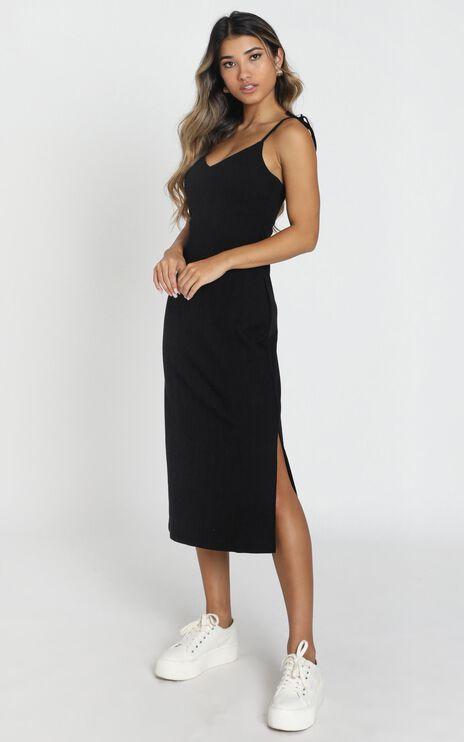 Wont Look Back Dress In Black