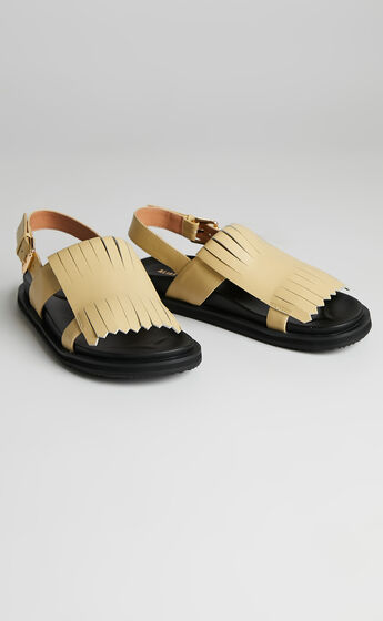 Alias Mae - Payton Sandals in Butter Leather
