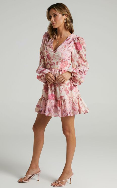 Khepri Dress in Soft Floral