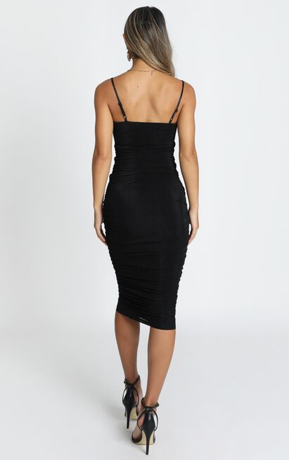 Commit To Me Maxi Dress in black - 20 (XXXXL), Black, hi-res image number null