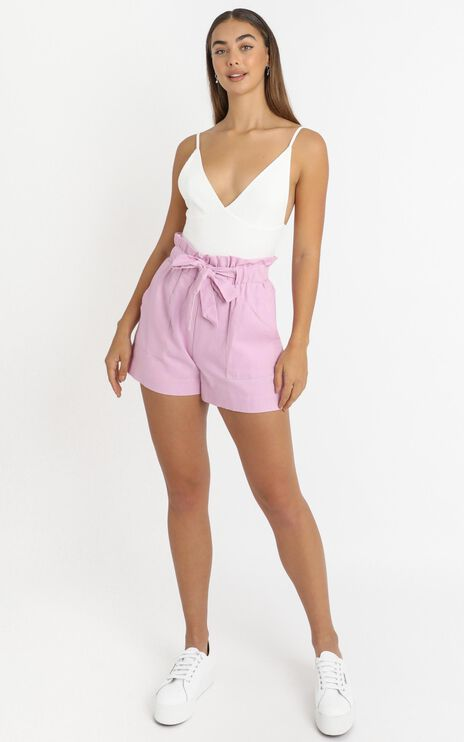 All Rounder Shorts in lilac