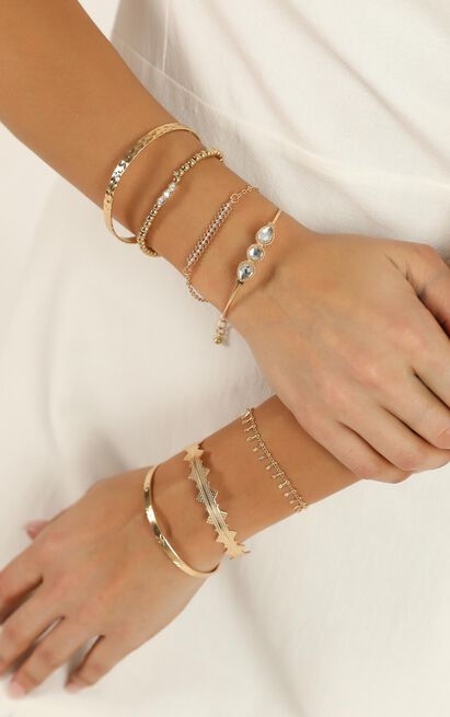 Need Another Love Bracelet Set In Gold, , hi-res image number null