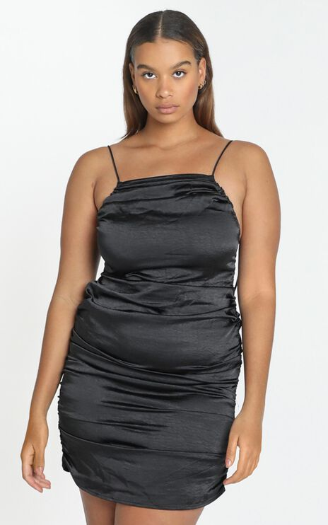 Lioness - Wild Wild West Mini Dress in Black