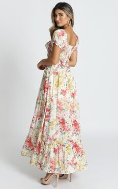 Sonia Dress In Multi Floral