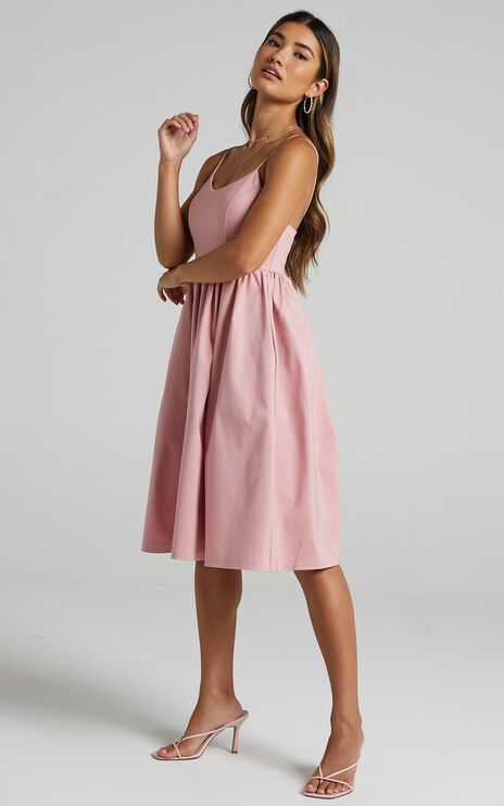Wild Nights Dress in Blush