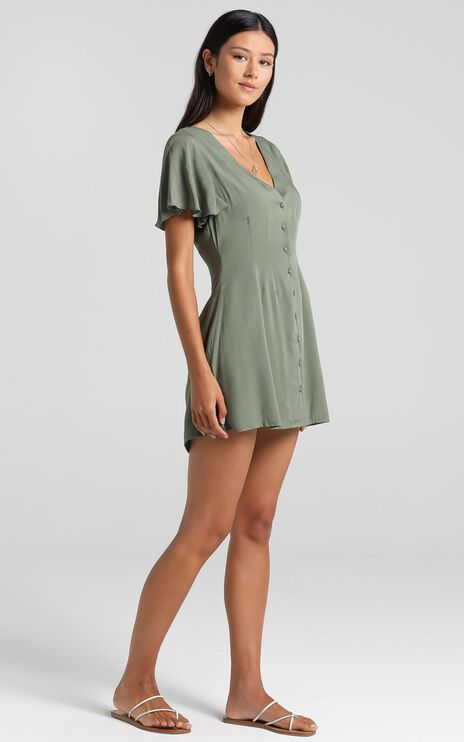 Daiquiri Dress in Khaki