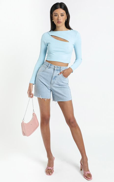 Leonie Top in Blue