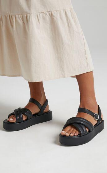 Public Desire - Kelsi Sandals in Black
