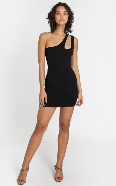 Superpower Dress in Black